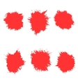 set of spots The circle vector image vector image