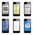smartphone concept vector image vector image