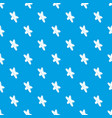 star clothes button pattern seamless blue vector image vector image