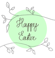 Stock happy easter design vector image