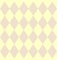 tile yellow and pink pattern vector image vector image