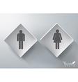 3D Restroom Sign Design