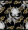 backdrop fabric gold sketch flat hand drawn vector image