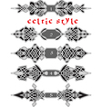 celtic style2 vector image vector image
