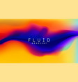 digital gradient background shape holographic vector image