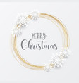 Elegant christmas background with gold circular