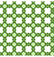 Flowers in square sells abstract seamless pattern vector image vector image