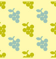 grape simple seamless pattern vector image
