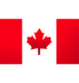 flag canada background vector image