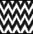 seamless modern zigzag background pattern vector image