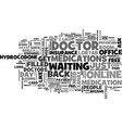 a day at the doctor s office text word cloud vector image vector image