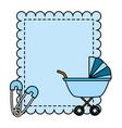 boy decoration baby shower card