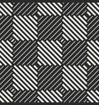 checkered geometric seamless pattern with stripes vector image vector image