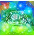 Christmas Mosaic Pattern vector image