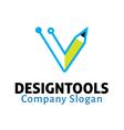 Design Tools Design vector image vector image
