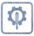 engineering fabric textured icon vector image vector image
