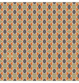 Fine seamless pattern chocolate vector image vector image