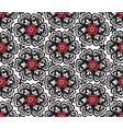 floral oriental seamless ornament ornamental tile vector image vector image
