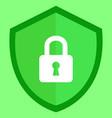 guard shield icon vector image vector image