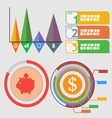 Infographic colorfull vector image vector image