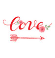 love day greeting card vector image vector image