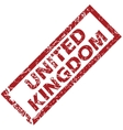 New United Kingdom rubber stamp vector image vector image