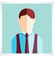 schoolboy flat icon vector image
