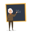 Scientist at the Blackboard vector image