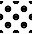 Smile seamless pattern 4 vector image