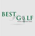 best-of-golf vector image vector image
