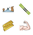building finance and other web icon in cartoon vector image vector image