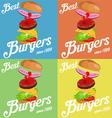 Burger vector image vector image