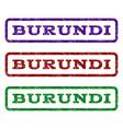 burundi watermark stamp vector image