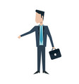 businessman avatar icon image vector image vector image