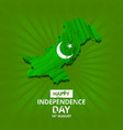 creative for independence day celebration of vector image