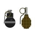 Grenade bomb vector image vector image