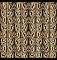 grunge striped greek geometric seamless pattern vector image vector image