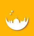 Islamic holiday background Ramadan Kareem vector image vector image