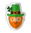 leprechaun irish character icon vector image vector image