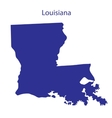 United States Louisiana vector image