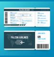 modern airline travel boarding pass ticket
