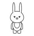 animal rabbit vector image vector image