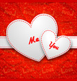 beautiful lovely poster vector image vector image