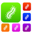 cell of dangerous virus set collection vector image vector image