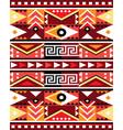 geometric tribal seamless pattern - peru vector image