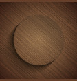 modern wooden icon vector image