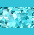 multicolor turquoise low poly background abstract vector image