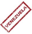 New Venezuela rubber stamp vector image vector image