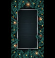 realistic wooden vertical background vector image vector image