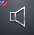volume sound icon symbol 3D style Trendy modern vector image vector image